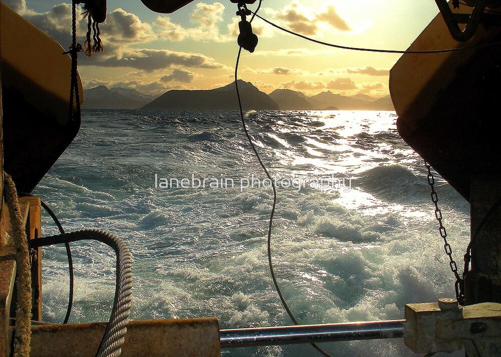 Leaving  Port by lanebrain photography