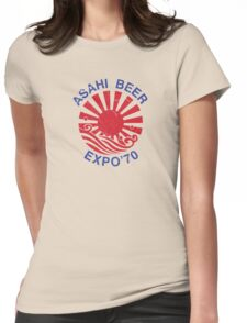 Asahi Beer Expo'70 Womens Fitted T-Shirt