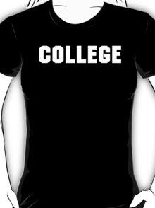 College Animal House retro  T-Shirt