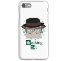 Breaking Cat iPhone Case/Skin