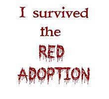 Red Adoption Photographic Print