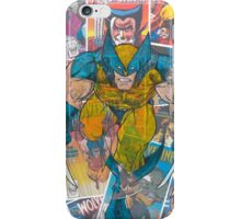 Vintage Comic Wolverine iPhone Case/Skin