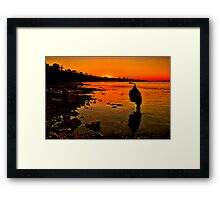 """Sundown"" Framed Print"
