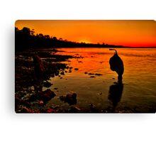 """Sundown"" Canvas Print"