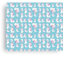 Marie, No Outline Pattern - The Aristocats Canvas Print