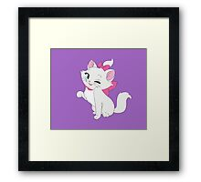 Marie Winking, The Aristocats Framed Print