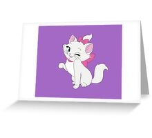 Marie Winking, The Aristocats Greeting Card