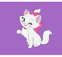 Marie Winking, The Aristocats Photographic Print