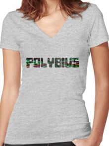 Polybius Women's Fitted V-Neck T-Shirt