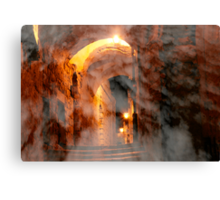 Heavenly alley Canvas Print