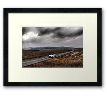 Aston Martin V12 Vanquish  Framed Print