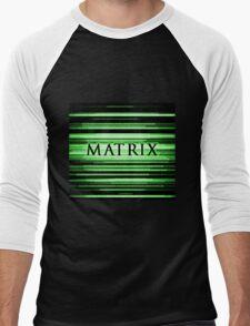 Matrix Men's Baseball ¾ T-Shirt