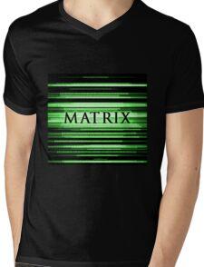 Matrix Mens V-Neck T-Shirt
