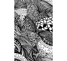 Abstract doodles Photographic Print