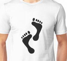 Foot Print Unisex T-Shirt