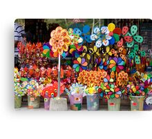 Chinese Fun And color Canvas Print
