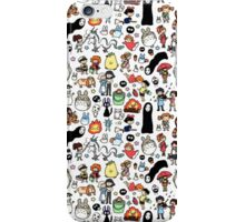 Studio ghibli background iPhone Case/Skin