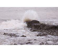 crash wave Photographic Print