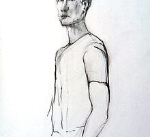Julien (in pencil) by Arzeian