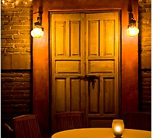 Mystery Door Photographic Print