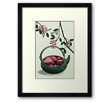 Ophelia in a teapot Framed Print