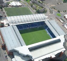 IBROX FROM THE AIR by stewarty