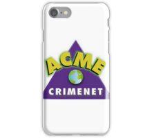 ACME CRIMENET iPhone Case/Skin
