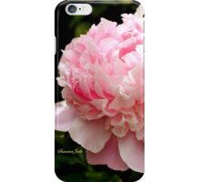 Peony ~ You Are the Dancing Queen! iPhone Case/Skin