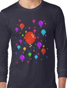 Pixel Balloons Long Sleeve T-Shirt