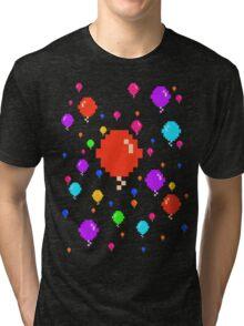 Pixel Balloons Tri-blend T-Shirt