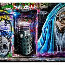 Dalek in Hosier Lane by Yanni