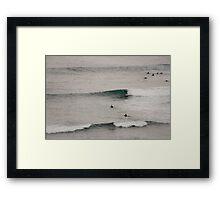 Surfin' Flinders Framed Print