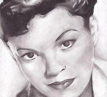 Judy Garland by WANNISgirl