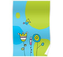 Greeting card Poster