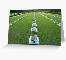World War II Memorial Ground, Labuan Greeting Card