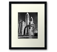 Eleventh Century Speyer Cathedral Germany Framed Print