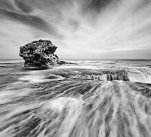 Sierra Nevada Rocks, Portsea, Mornington Peninsula by Silvia Tomarchio