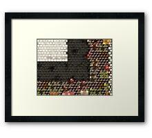 Blocks Framed Print