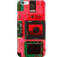 LCD TV SABA iPhone Case/Skin
