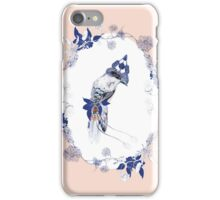 Magpie Bird Artprint iPhone Case/Skin