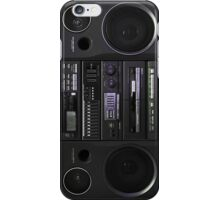 Boombox case iPhone Case/Skin