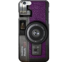Camera Purple iPhone Case/Skin