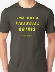 WALLET WORRY Unisex T-Shirt