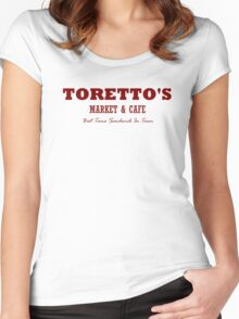 Toretto's Market & Cafe Women's Fitted Scoop T-Shirt