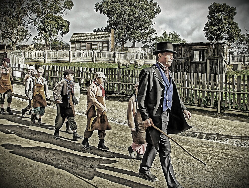 In Their Master's Steps They Trod by TonyCrehan