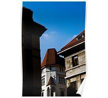Prague Buildings Poster
