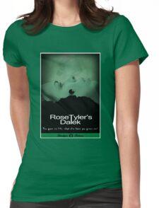 Rose Tyler's Dalek Womens Fitted T-Shirt