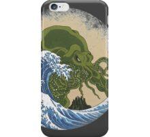 Hokusai Cthulhu iPhone Case/Skin