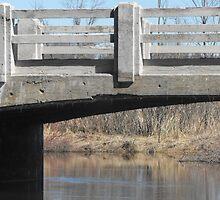 Old Bridge by Les Wazny