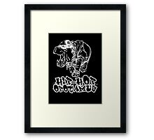 Hip Hop Opotamus (Inverted) Framed Print